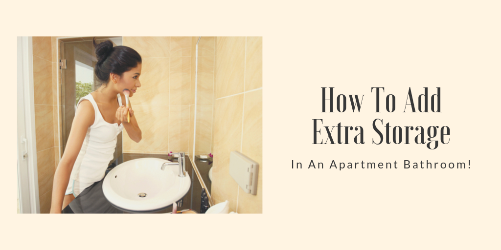The thing about apartment bathrooms is that they're notoriously small. That doesn't mean that you can't make the most of that space. Here are some space saving tips for apartment bathroom storage.